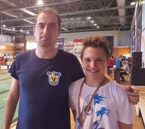 Micul David Cârciumărescu s-a umplut de medialii la