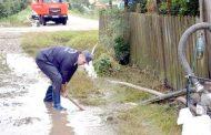Ploaia şi grindina au făcut prăpăd la Berevoeşti