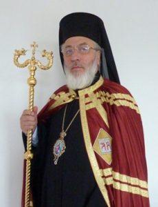 Arhiepiscopul Calinic, în cartierul Trivale