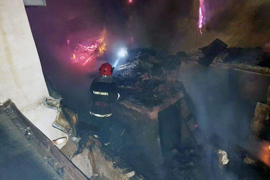 Ultima oră! S-a aflat cine este victima incendiului de la Leordeni!