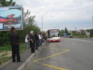 Bani pentru staţiile de autobuz