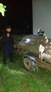 Prinşi la furat de lemne de către jandarmi