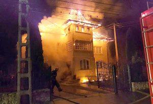 ACUM! Incendiu în centrul Piteștiului