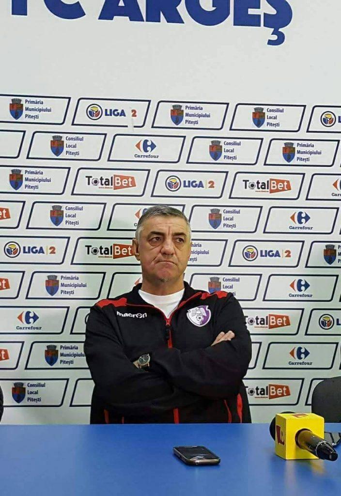 Augustin Eduard, noul antrenor al echipei FC Argeș