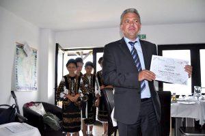 Primarul din Corbi îndeamnă lumea să meargă la referendum