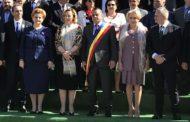 Figuri ilustre la Simfonia Lalelelor Piteşti: prim-ministrul, doamna Veorica, doamna ministru Decât şi ministra-precupeaţă de la Mediu, Graţiela Gavrilescu