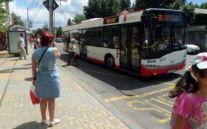 Program special pentru autobuzele Publitrans, de sfânta Maria