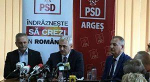 Anumiţi lideri ai PSD Argeş au făcut pact cu Liviu Dragnea!