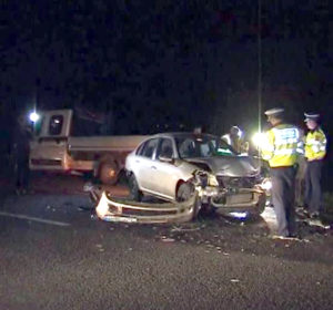 Şase răniţi în accident pe autostradă