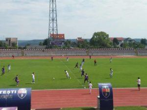 FC Argeş a învins azi pe CS Baloteşti, cu 2-1, într-un meci amical