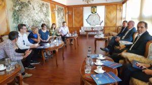 Delegaţie franceză, vizită în Argeş privind asistenţa socială şi protecţia copilului