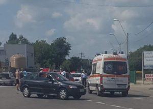 Femei blocate în maşină la Piteşti