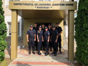Jandarmeria  argeşeană s-a întărit cu opt noi tineri subofiţeri