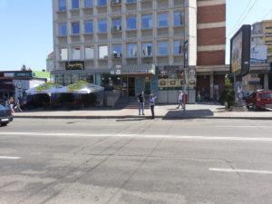 Traversările nepermise, amendate pe bulevardul Brătianu