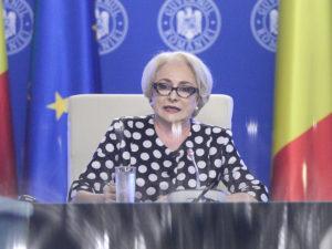 Dăncilă a gafat pe drumul expres Piteşti - Craiova