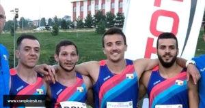 Medalii pentru atleţii piteşteni, la Campionatul Balcanic de ștafete