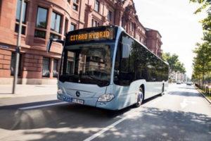 Un alt autobuz hibrid (diesel şi electric) va fi testat la Piteşti