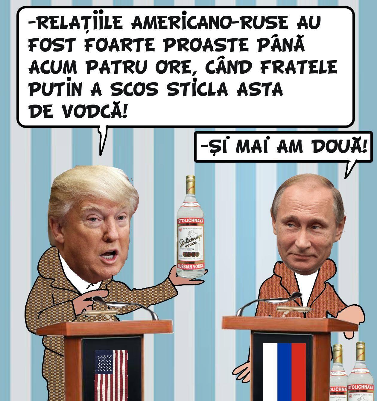 O caricatură de Mihai MATEI, Bucureşti