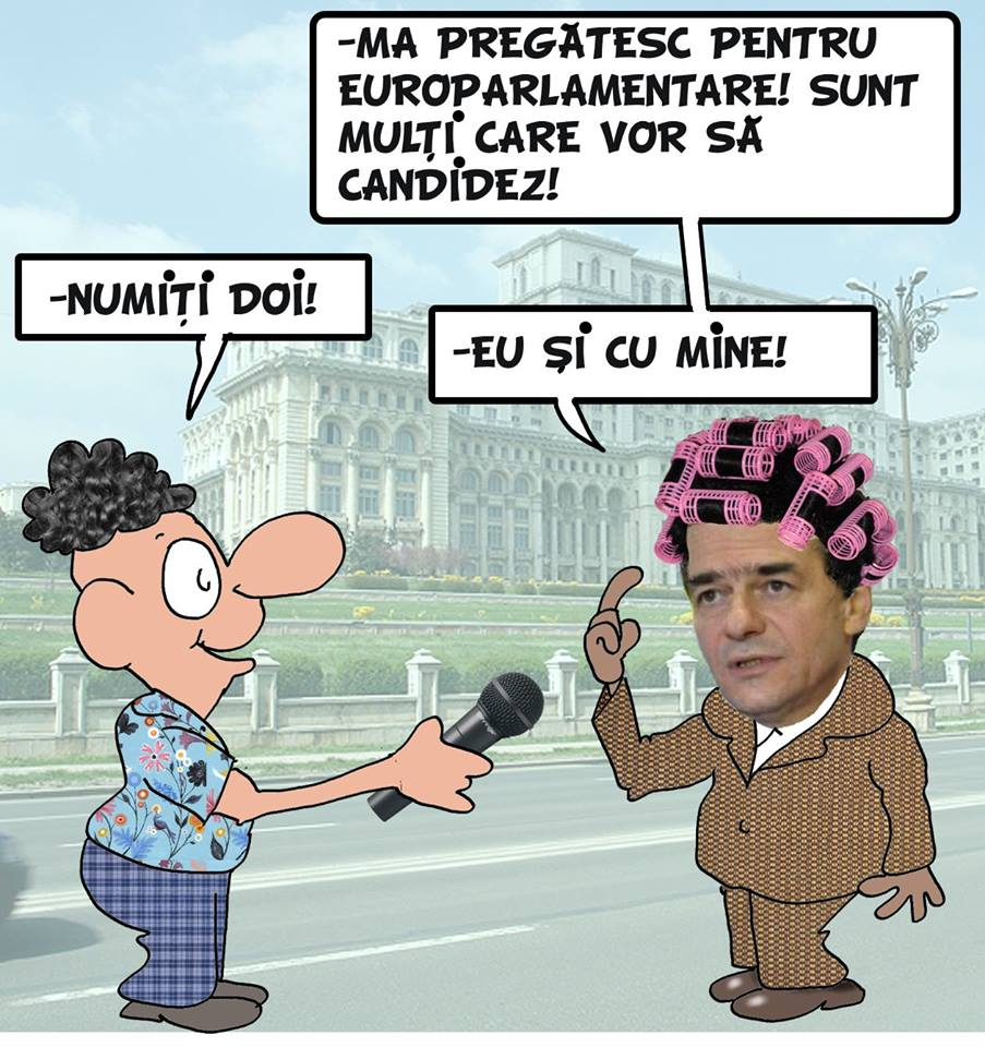 Pastila de umor: susţinere masivă pentru candidatura la parlamentare a lui Ludovic Orban
