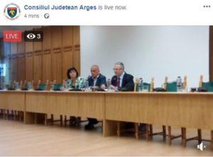 CJ Argeş, şedinţă cu trei consilieri şi... trei spectatori