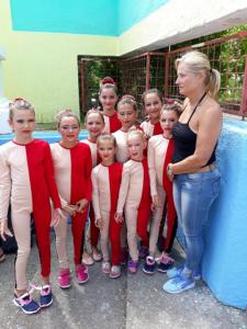 Fetele din Bradu, la Mondialul de Dans