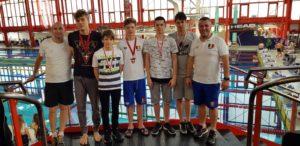 Înotători din Piteşti şi Mioveni la Campionatele Naţionale pentru Cadeţi