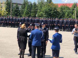 Noii jandarmi argeşeni au depus Jurământul Militar