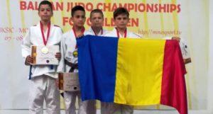 Bronz pentru sportivii argeşeni la Balcaniada de judo