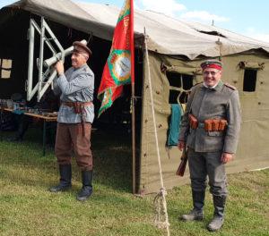 Luptă din Primul Război Mondial, reconstituită la Mioveni