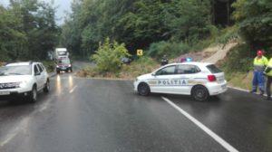 Trafic blocat, acum, la Drăganu, pe sensul spre Piteşti