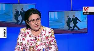 Dna Ecaterina Andronescu, senator PSD şi fost ministru al Învăţământului, le cere preşedintelui Liviu Dragnea şi Guvernului Dăncilă să plece