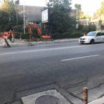 Lucrări de reparații pe Bulevardul IC Brătianu