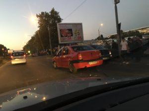 ACUM! Accident în Craiovei