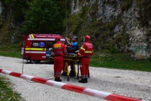 Exercițiu complex de salvare-evacuare al Jandarmeriei Montane