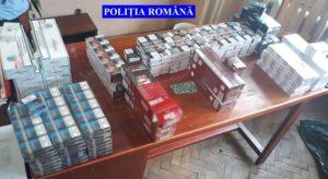 Contrabandă cu ţigări la Câmpulung. Marfa, banii şi maşina - confiscate