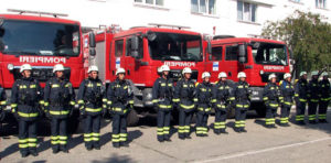 Ziua Pompierilor, în Piaţa