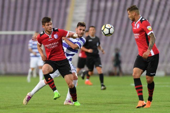 FC Argeş a bătut la scor de neprezentare Luceafărul Oradea