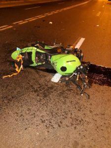 Motociclist rănit într-un accident rutier la Pitești