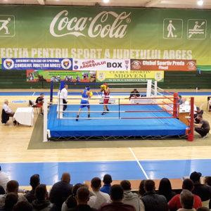 Un piteştean, vicecampion european la box