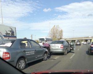 ACUM! Accident la Podul Viilor