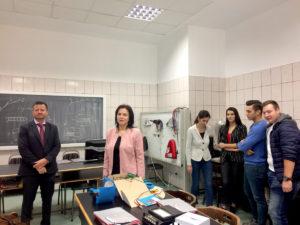 Grupul CEZ în România a donat Universităţii din Piteşti echipamente de laborator în valoare de 5000 euro