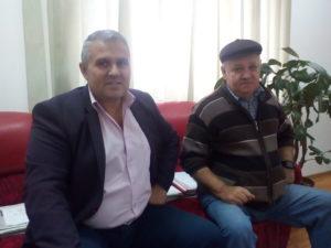 Doi dintre fiii satului: vicele şi un consilier local
