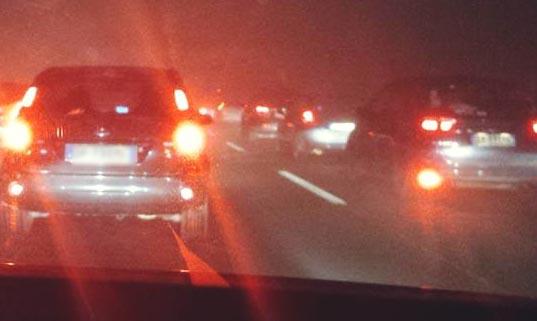 Incendiu la un autoturism pe Autostradă