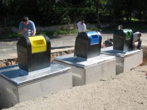 Licitaţie pentru containere îngropate