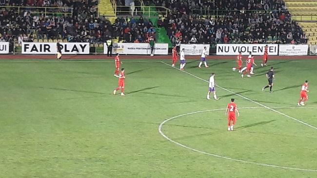 Start de partidă CS Mioveni - FC Argeş