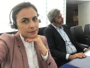 Gabriela Zoană, discurs curajos la Strasbourg
