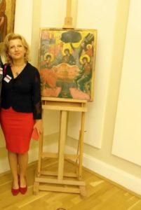Un artist desăvârşit la Muzeul Goleşti. Interviu cu Malvine Mocenco