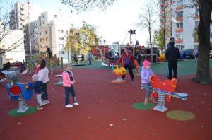 Loc nou de joacă în Pitești