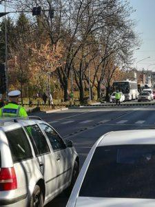 Accident în zona Spitalului Militar