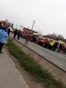 ACUM! GRAV ACCIDENT în BASCOV. CIRCULAȚIA BLOCATĂ pe ambele sensuri de mers